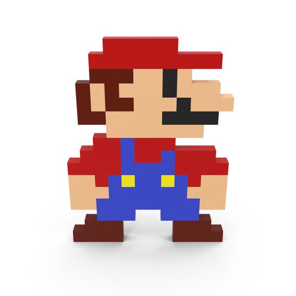 8 Bit Mario Png Images Psds For Download Pixelsquid