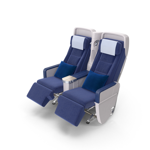 Attractive Airplane Chairs PNG U0026 PSD