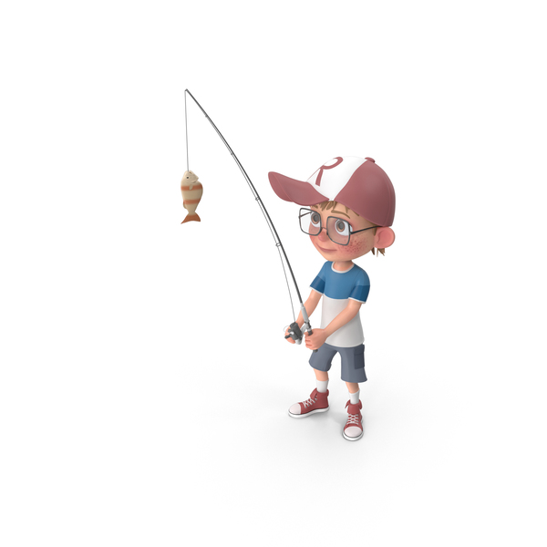 Cartoon Boy Harry Fishing Png Images Psds For Download Pixelsquid S11209451a
