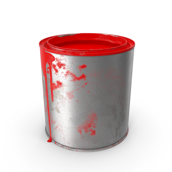 Dirty Paint Can PNG Images & PSDs For Download