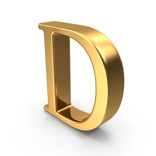 Gold Capital Letter D PNG Images & PSDs for Download ...