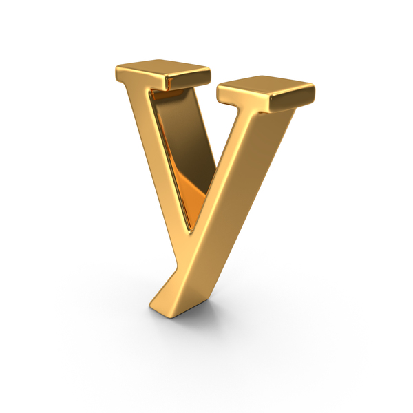 y letter in gold - photo #48