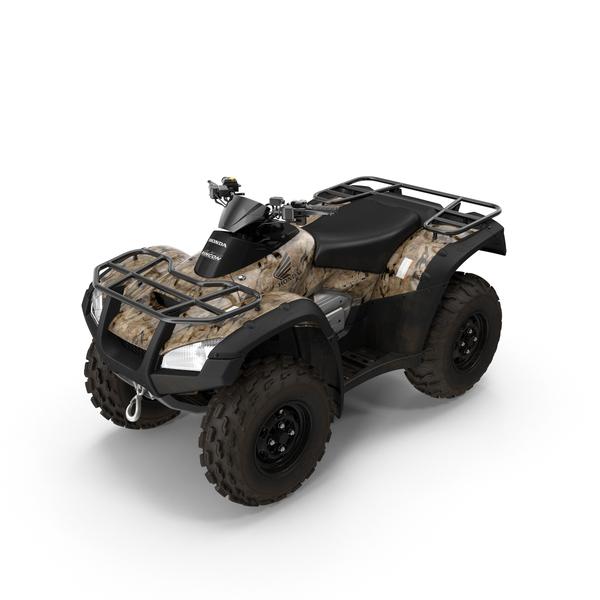 Four Wheeler Vehicle >> Honda Quad Bike PNG Images & PSDs for Download | PixelSquid - S11120087A