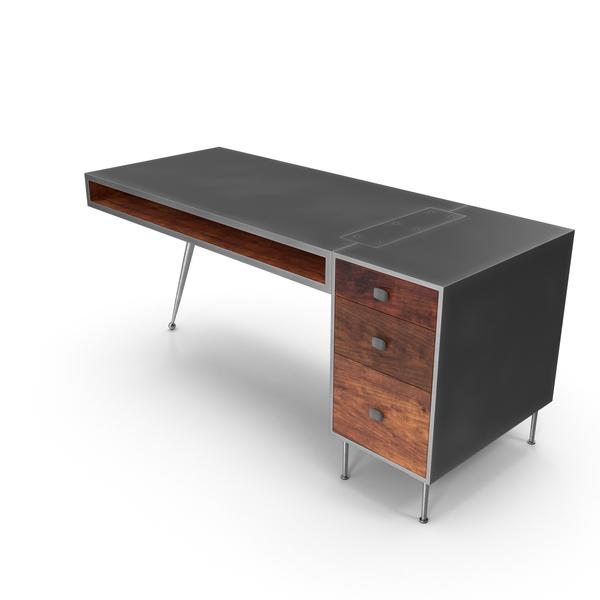mid century modern desk png images psds for download pixelsquid s111403283 pixelsquid
