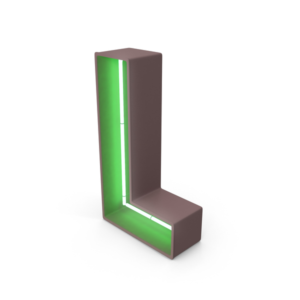 neon letter l png images psds for download pixelsquid s111139663 pixelsquid