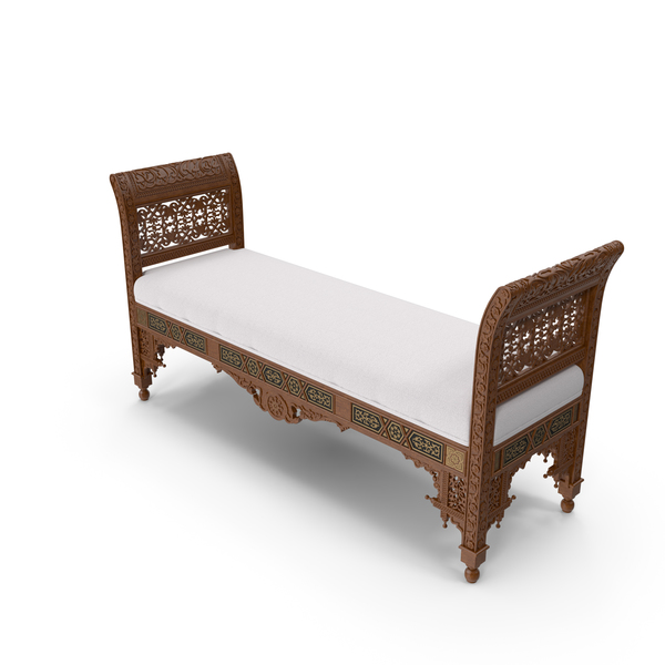 Oriental bench png images psds for download pixelsquid for Chaise game free download