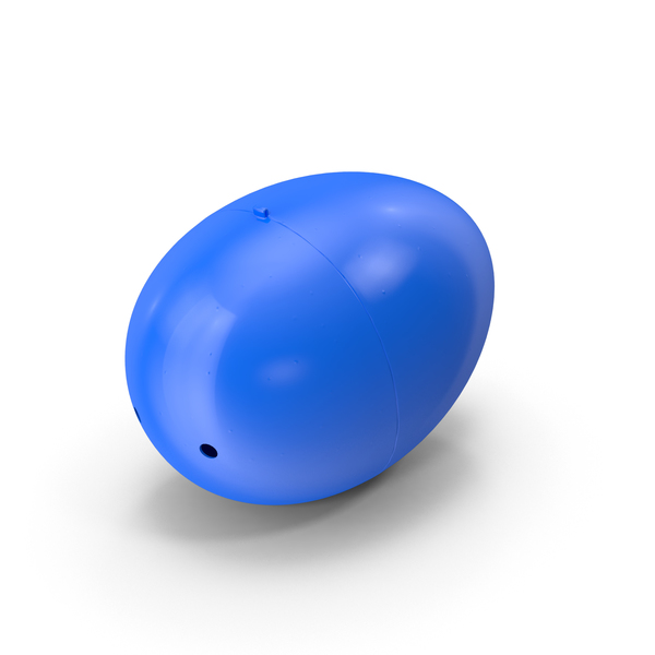 Plastic Easter Egg PNG PSD