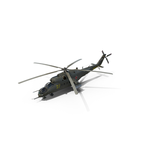 Russian Mi-35M Hind PNG Images & PSDs for Download ...