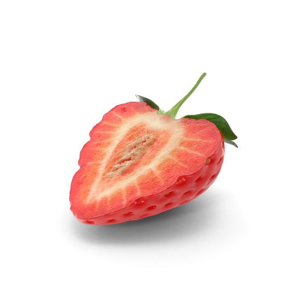 Cake White Strawberry Orange