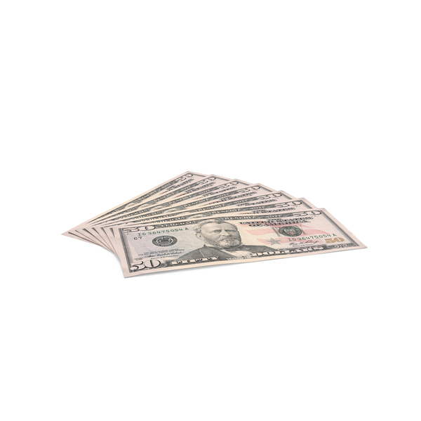 US 50 Dollar Bill PNG Images & PSDs for Download