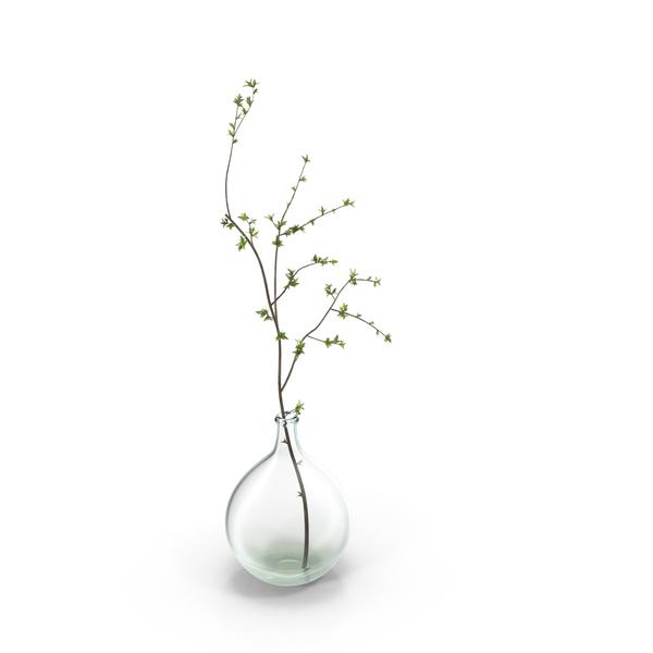 Wood Plant Vase