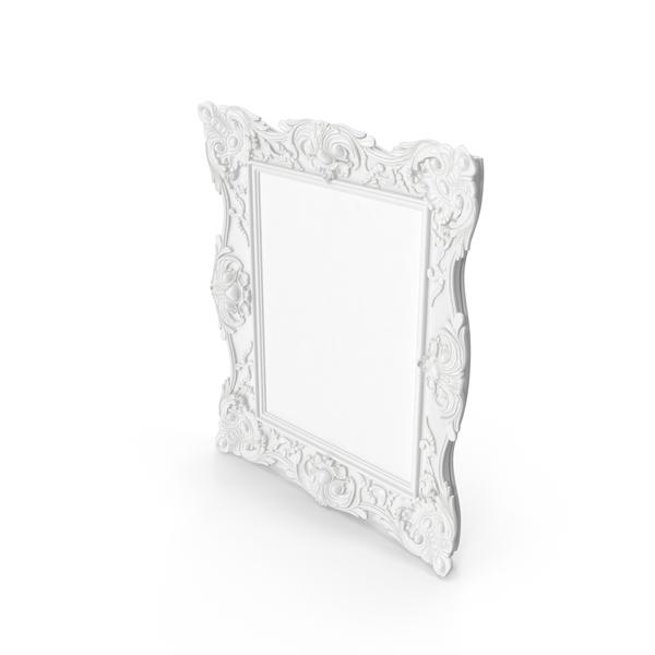 White Baroque Frame PNG Images & PSDs for Download | PixelSquid ...