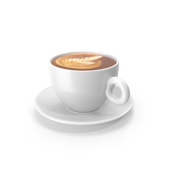 white cup with cappuccino png images psds for download pixelsquid s111397539 pixelsquid
