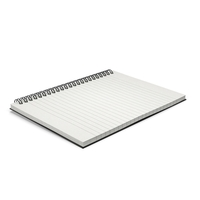 Spiral Notebook Object
