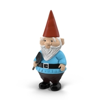 Pudgy Lawn Gnome PNG & PSD Images