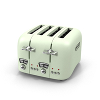 DeLonghi Retro Toaster PNG & PSD Images