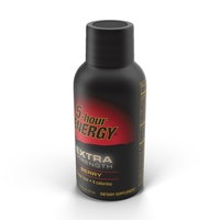 5-Hour Energy Shot PNG & PSD Images