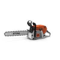 STIHL Chainsaw PNG & PSD Images