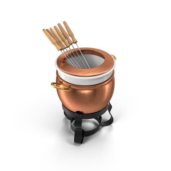 Fondue Pot Object