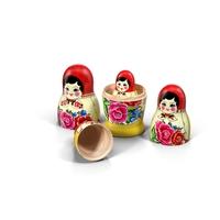 Babushka Nesting Dolls PNG & PSD Images