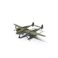 Lockheed P-38 Lightning PNG & PSD Images