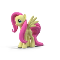 MLP Fluttershy Toy PNG & PSD Images
