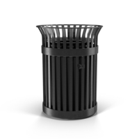 Metal Trash Can PNG & PSD Images