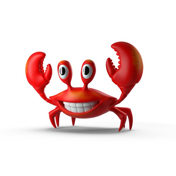 Cartoon Crab Object