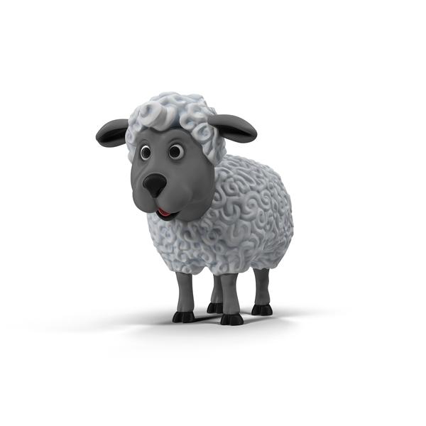 Cartoon Sheep PNG & PSD Images