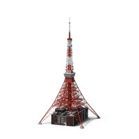 Tokyo Tower PNG & PSD Images