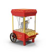 Nostalgia Popcorn Maker PNG & PSD Images