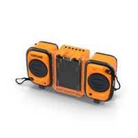 Floating Boombox PNG & PSD Images