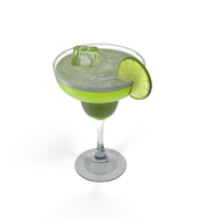 Margarita Glass PNG & PSD Images