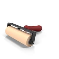 Linocut Ink Roller PNG & PSD Images
