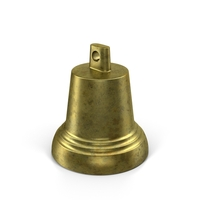 Small Brass Bell PNG & PSD Images