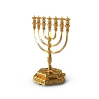 The Temple Menorah PNG & PSD Images