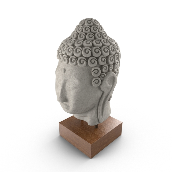 Buddha Head Statue PNG & PSD Images