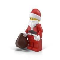 LEGO Santa Claus PNG & PSD Images