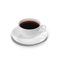 Full White Coffee Cup PNG & PSD Images