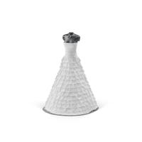 Wedding Dress On Mannequin PNG & PSD Images