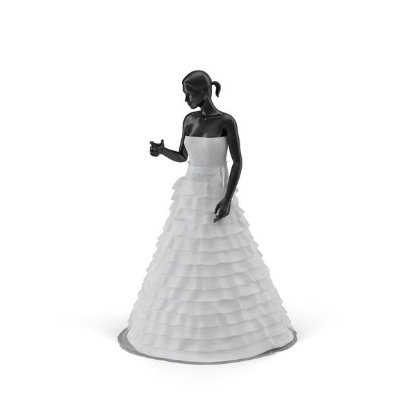 Showroom Wedding Dress PNG & PSD Images