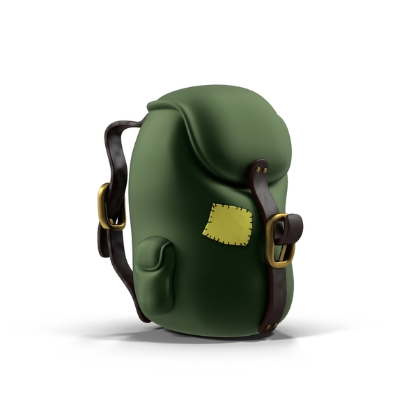 Cartoon Backpack PNG & PSD Images