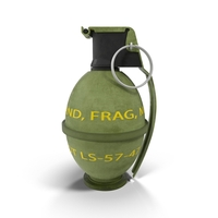 Grenade M26 PNG & PSD Images