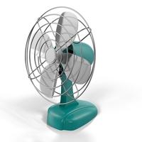 Vintage Air Fan Object