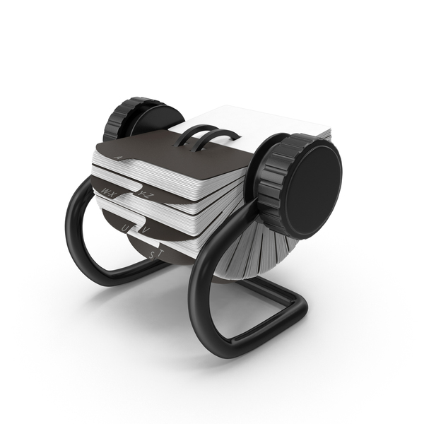 Rolodex Object