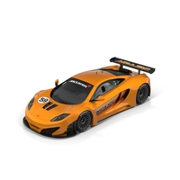 McLaren MP412-C GT3 PNG & PSD Images