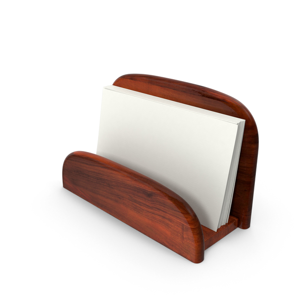 Business Card Holder Object