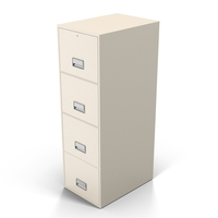 White Filing Cabinet PNG & PSD Images