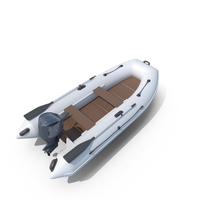 Motor Rubber Boat PNG & PSD Images