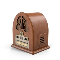 Cathedral Antique Radio PNG & PSD Images